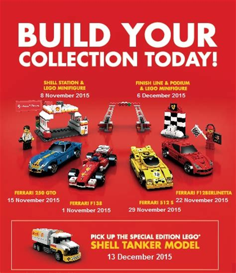 2015 Shell Lego Crossover Garage Display For Sales Onl wts shell and lego series 2015