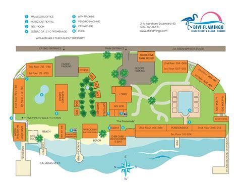 flamingo resort map dive divi
