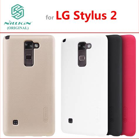 Nillkin Frosted Shield Lg Stylus 2 K520 for lg stylus 2 k520 k520tr ls755 original nillkin frosted shield back cover for lg