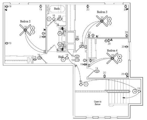 electrical layout plan house residential electrical wiring diagrams simple residential free engine image for user