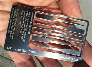 mitnick business card security tips from a hacker kevin mitnick s advice