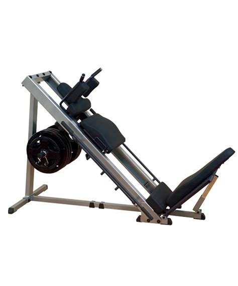 Alat Fitnes Leg Press Solid Leg Press Hack Squat Machine Toko Alat