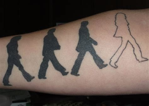 beatles tattoo my beatles modify me