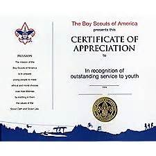Cub Scout Certificate Templates by Appreciation Certificate Wall Certificates