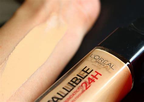 L Oreal Infallible Liquid Foundation l oreal 24h infallible liquid foundation review before