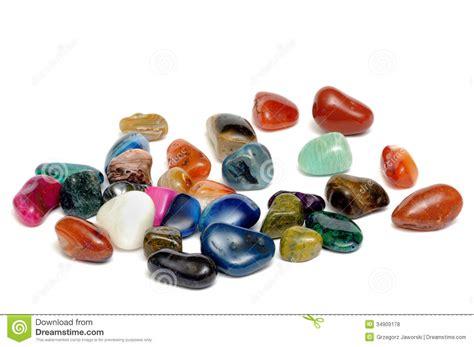 semi precious semi precious stones stock photo image of colored
