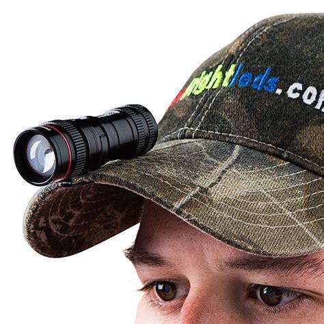 led hat clip light led flashlight nebo micro redline oc optimized clarity