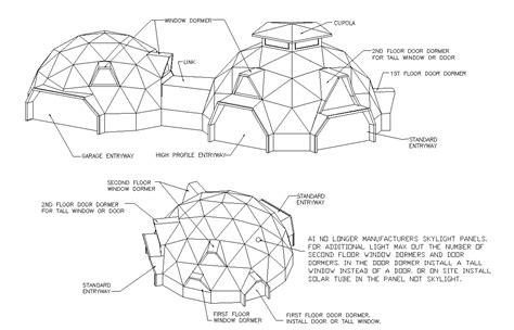 The Dakota Floor Plan by Geodesic Dome Home Entryways Amp Dormers Aidomes