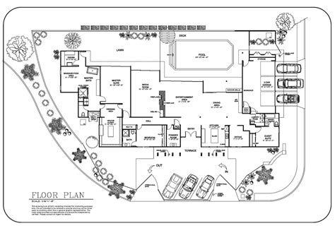 site plan drawing 1 in real estate event venue floor plans for real estate builders service in los