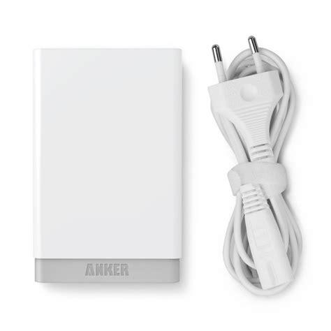 Anker Powerport 5 40w 5v 8a 5 Usb Ports Poweriq Smart Phone Charger anker 174 40w 5v 8a 5 port usb ladeger 228 t oachkatzerl