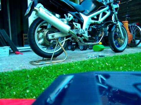 Motorradheber Alleine by Sv 650 Aufbocken Youtube