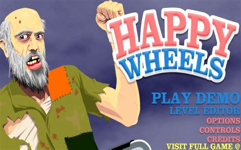 the full version of the game happy wheels can only be played at totaljerkface com games happy wheels demo