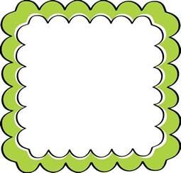 Scalloped Border Clipart green scalloped frame free clip frames