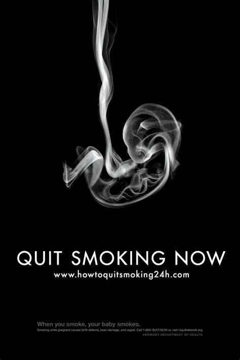 poster design on no smoking quit smoking poster