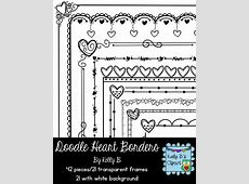 25+ Best Ideas about Doodle Borders on Pinterest   Bible ... Easy Drawings Of Hearts With Ribbons