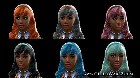 how to get silver hair in gw2 new hair and accessory colors in total makeover kits
