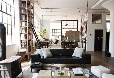 home decor in brooklyn raw industrial glamour in fort greene mydomaine
