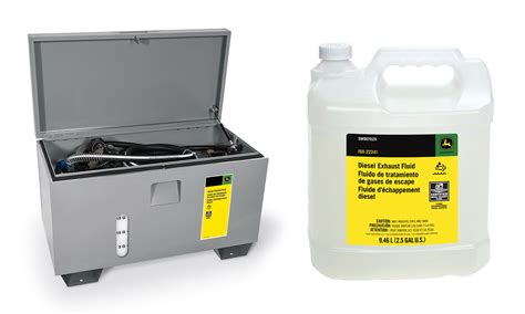 Diesel Exhaust Fluid Shelf by Deere Offers Complete Ft4 Package Of Def And Related