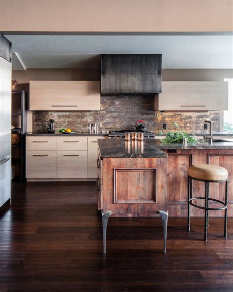 rustic contemporary kitchen modern rustic contemporary kitchen san francisco