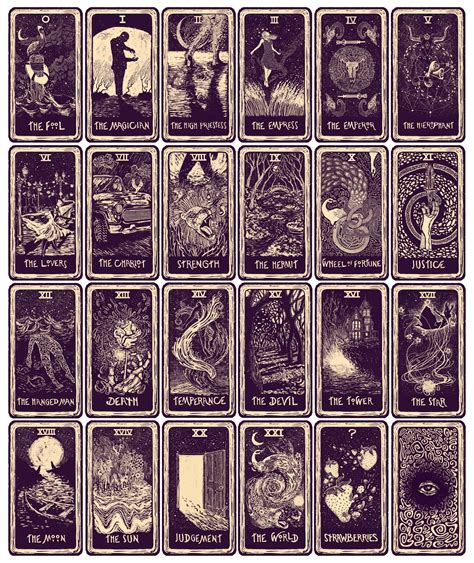 inside the rock poster frame eads tarot card - Tarot Cards