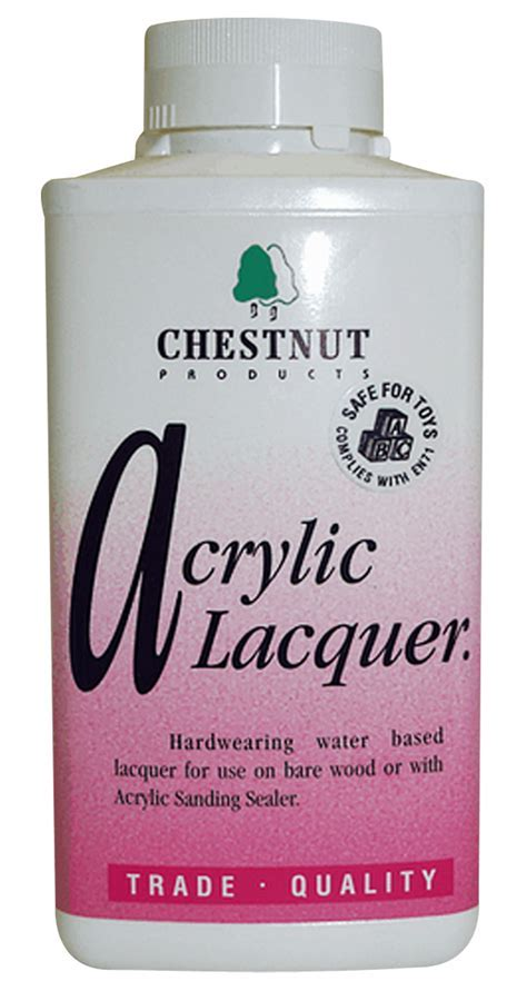 Chestnut's Acrylic Lacquer 500ml : £9.710000