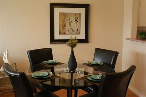 dinning room staging contemporary dining room