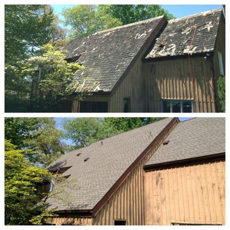 Shake Roof Repair Cedar Shake Roof Replacement With Timberline Shingles
