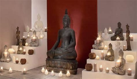 Buddha Decoration Ideas by Ethnic Interior Design Ideas Mixing Neutral Colors With