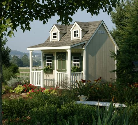 backyard cottages backyard cottage playhouse homeplace structures