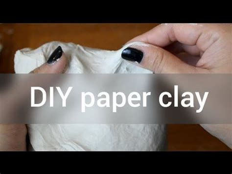 How To Make Paper Mache Clay - best 20 paper clay ideas on paper clay