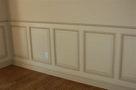 Decorating With Wainscoting Panels Raised Panel Wainscoting New York By World Contracting Llc
