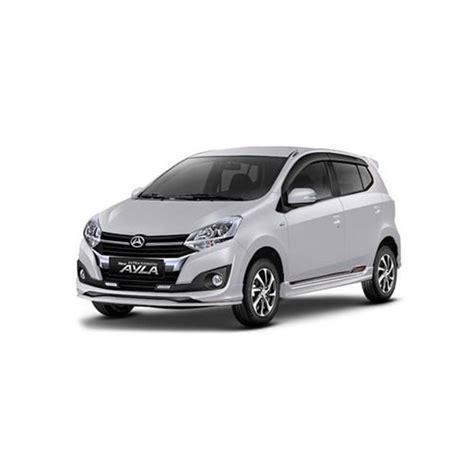 Ayla Type D Plus 9000 Km kredit mobil daihatsu ayla 1 0 d plus m t 2018