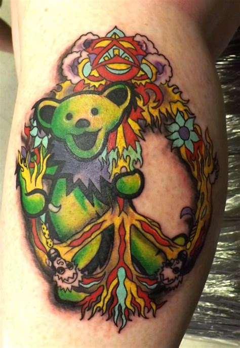grateful tattoo amazing grateful dead tattoos 40 tattoos nsf