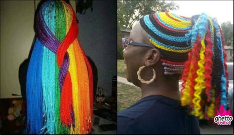 multi colored box braids multi colored rainbow box braids you will be impressed