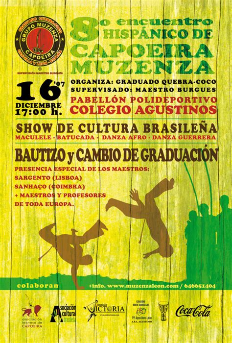 pabellon hispanico leon asociaci 243 n leonesa de capoeira grupo muzenza de capoeira