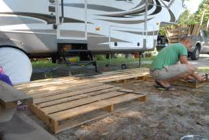 Rv Sunroom Diy Deck Rv Ranger Family