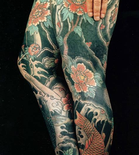 oriental tattoo designs leg japanese tattoo