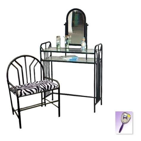 black vanity set with zebra bench black vanity set with zebra bench black vanity set with