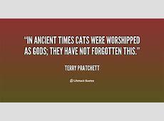 Terry Pratchett Cat Quotes. QuotesGram Jane Goodall Death