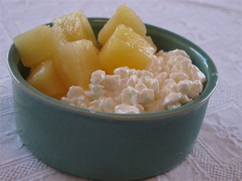 cottage cheese and pineapple pineapple cottage cheese
