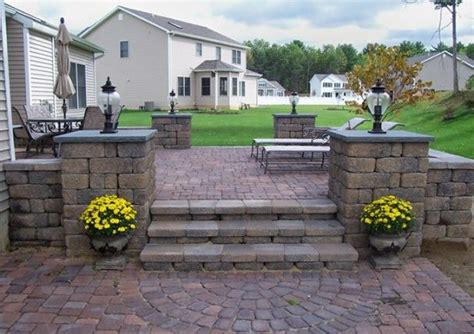 backyard pavers cost paver patio cost garden pinterest