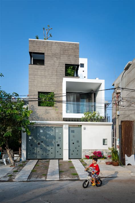 vietnam house a family house on a small lot in vietnam contemporist