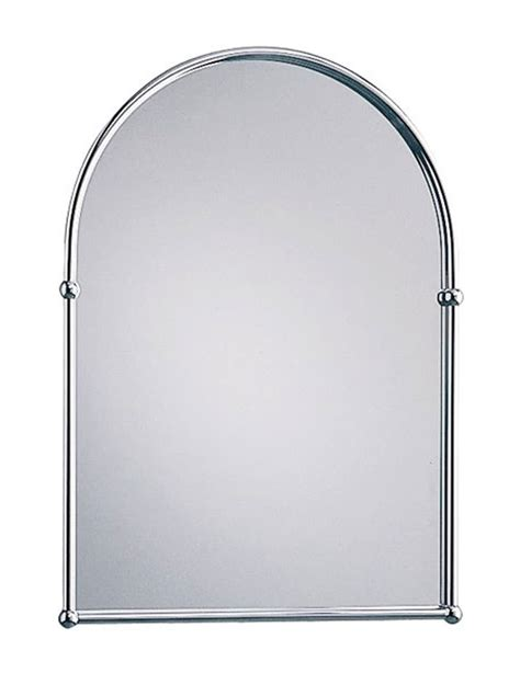Arched Bathroom Mirrors Heritage Chrome Arched Mirror
