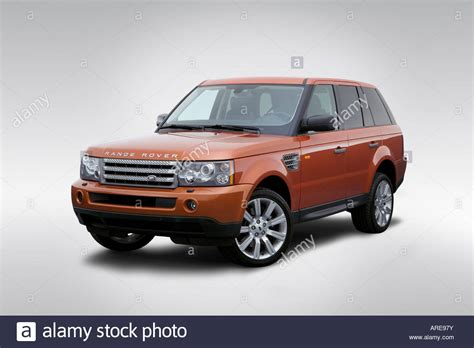 orange range rover sport 2006 land rover range rover sport supercharged in orange