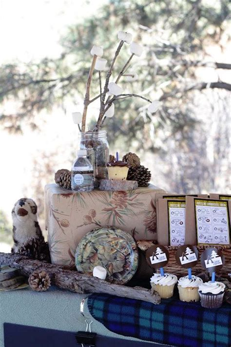 nature themed events kara s party ideas rustic nature hiking birthday party