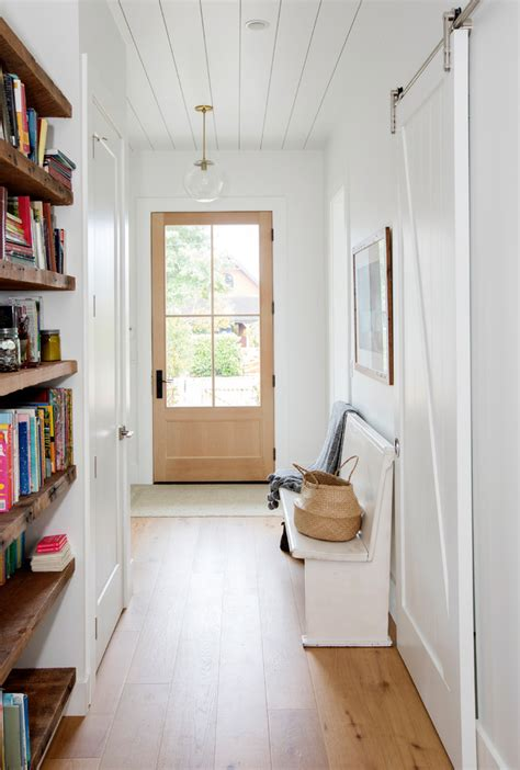 farmhouse entry hall designs   give   warm