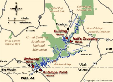 house boat grand canyon lake powell houseboat and vacation map for utah and