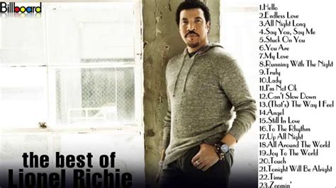 Lionel Richie Calls Himself The Greatest the best of lionel richie lionel richie s greatest hits