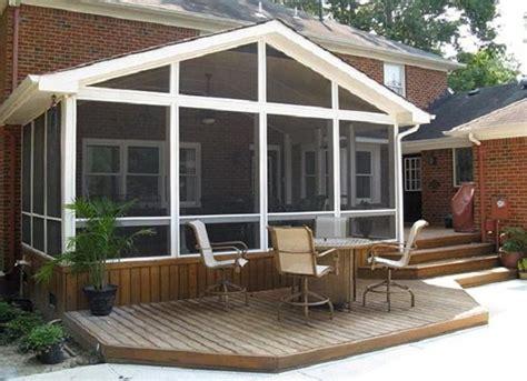screened in deck cost home design ideas