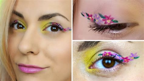 floral eyeliner is the newest makeup trend you ll be